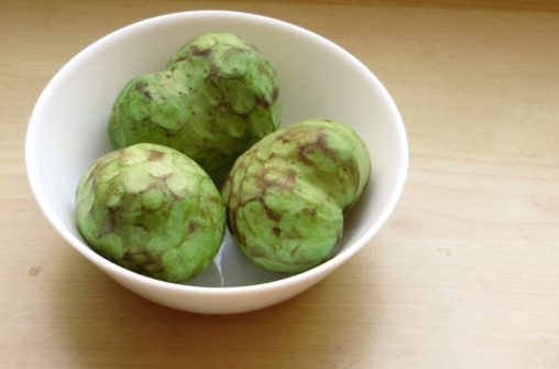 Taste the anonas! (custard apple)